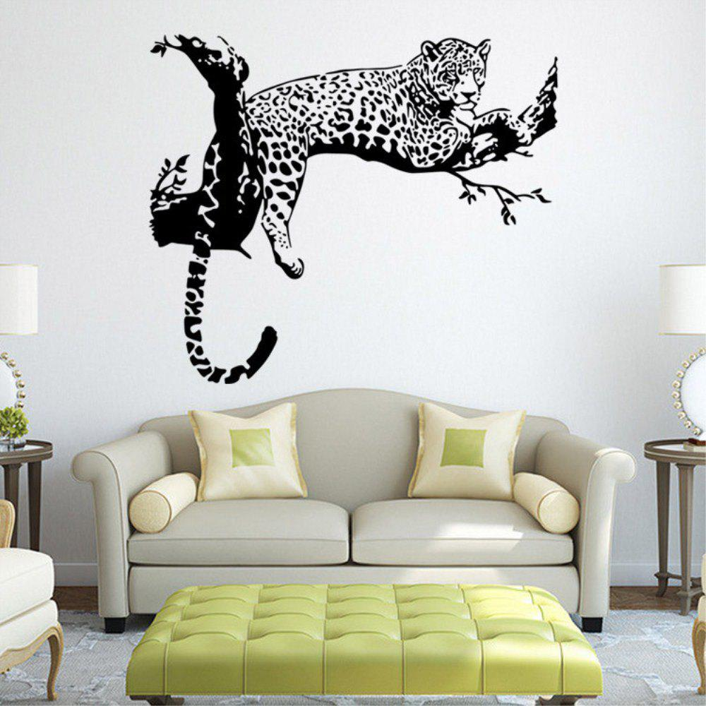 Outfits Creative Personality New Leopard Adornment Sticker
