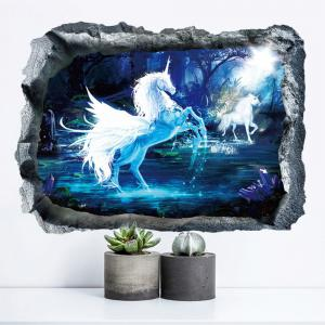 Creative New Decoration Cartoon 3D Magic Wall Sticker -