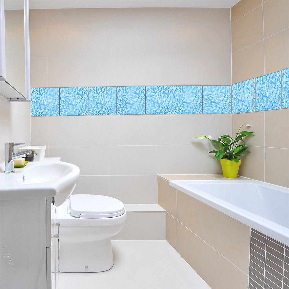 Unique Mosaic Sticker for Ceramic Tile Waterproof Wallpaper for Kitchen Bathroom Wall