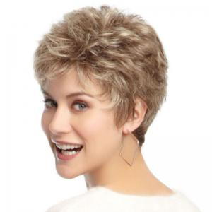 Sexy Fluffy Tilted Frisette Wig -