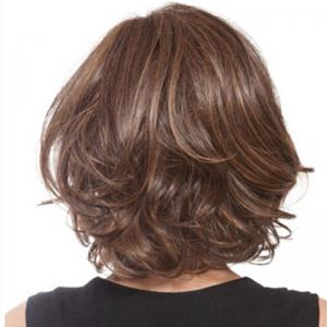 Sexy Partial Points Short Curly Hair -