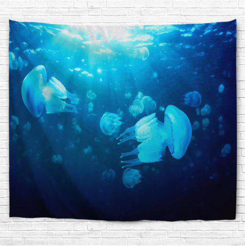 Chic Undersea Jellyfish 3D Printing Home Wall Hanging Tapestry for Decoration