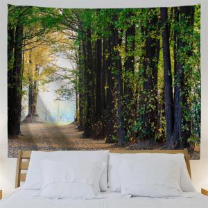 Maple Forest 3D Printing Home Wall Hanging Tapestry for Decoration -
