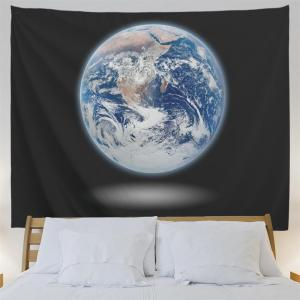 Earth 3D Printing Home Wall Hanging Tapestry for Decoration -
