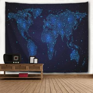 Star Map 3D Printing Home Wall Hanging Tapestry for Decoration -