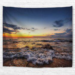 Sunrise Beach 3D Printing Home Wall Hanging Tapestry for Decoration -