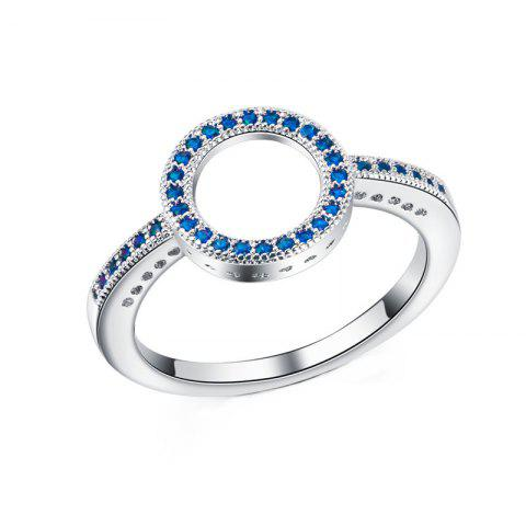 Online Fashion Simple Personality With Diamond Couple Ring