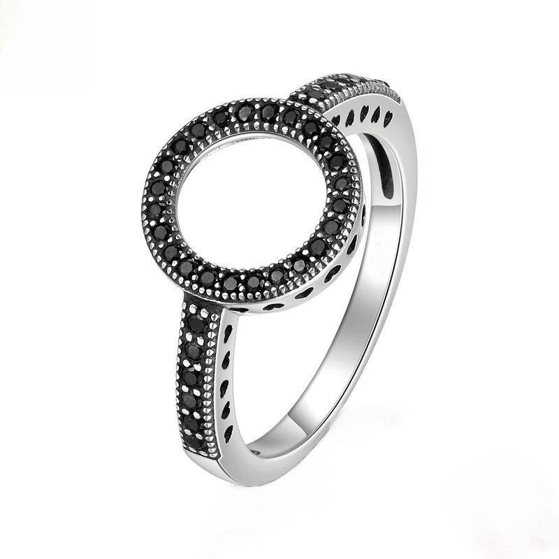 Best Fashion Simple Personality With Diamond Couple Ring