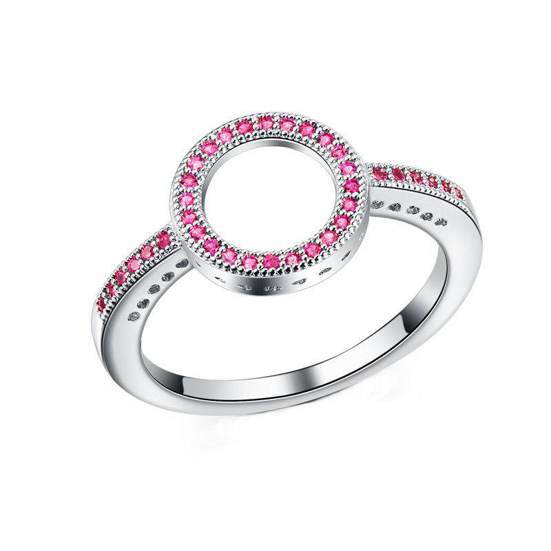 Discount Fashion Simple Personality With Diamond Couple Ring