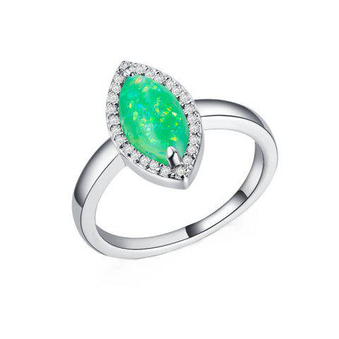 Store Fashion Artificial Opal  Couple Ring