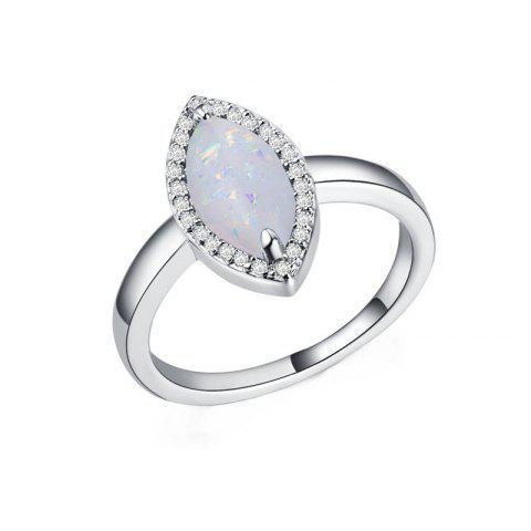 Chic Fashion Artificial Opal  Couple Ring
