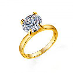 Simple Diamond Ring Wedding Couple Ring -