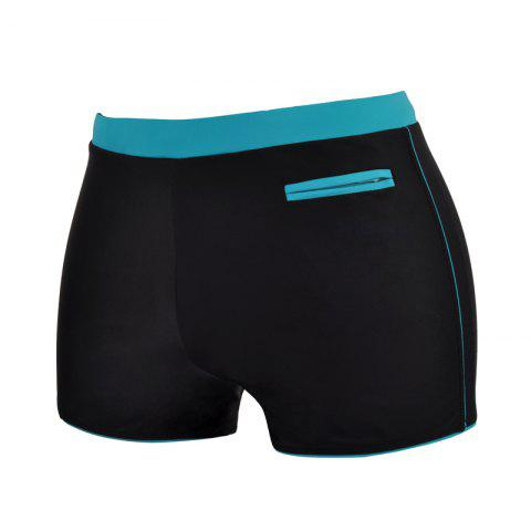 Hot Man Quick-Drying Breathable Boxer Swimming Trunks