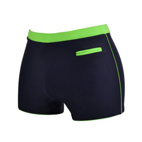 Chic Man Quick-Drying Breathable Boxer Swimming Trunks