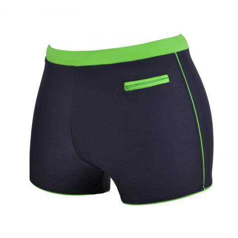 Latest Man Quick-Drying Breathable Boxer Swimming Trunks