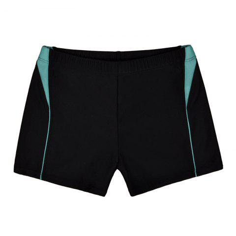 Online Men Breathable Comfortable Tight Boxer Swimming Trunks