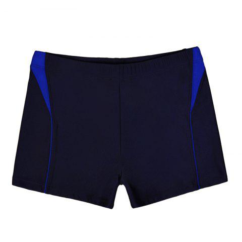 Affordable Men Breathable Comfortable Tight Boxer Swimming Trunks