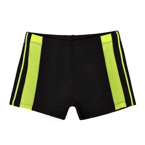 Cheap Men's Professional Boxer Hot Spring Fashion Swimming Trunks