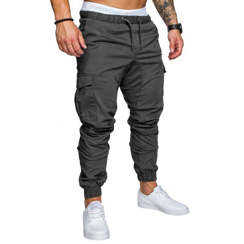 Shops Leisure Tethers Elastic Pants Men's Trousers