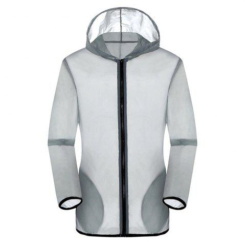 Buy New Summer Ultra-Thin Breathable Long Sleeve Sun Protection Clothing