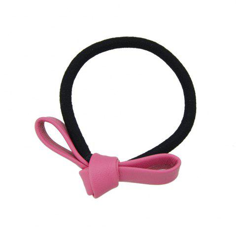 Shops Black Elastic Rope Bowknot Shape PU Headbands