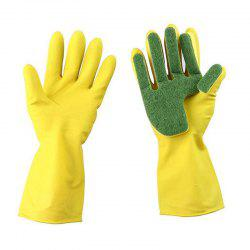 Creative Home Washing Cleaning Scrub Gloves Garden Kitchen Dish Sponge -