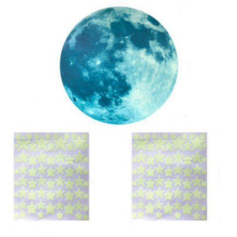Latest Noctilucent Engraving Sunlight Cartoon Switch Wall Sticker