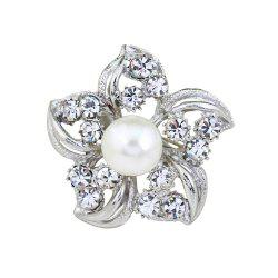 Fashion Mini Flower Brooch -