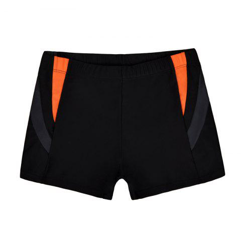 Online Men's Casual And Comfortable Boxer Swimming Trunks