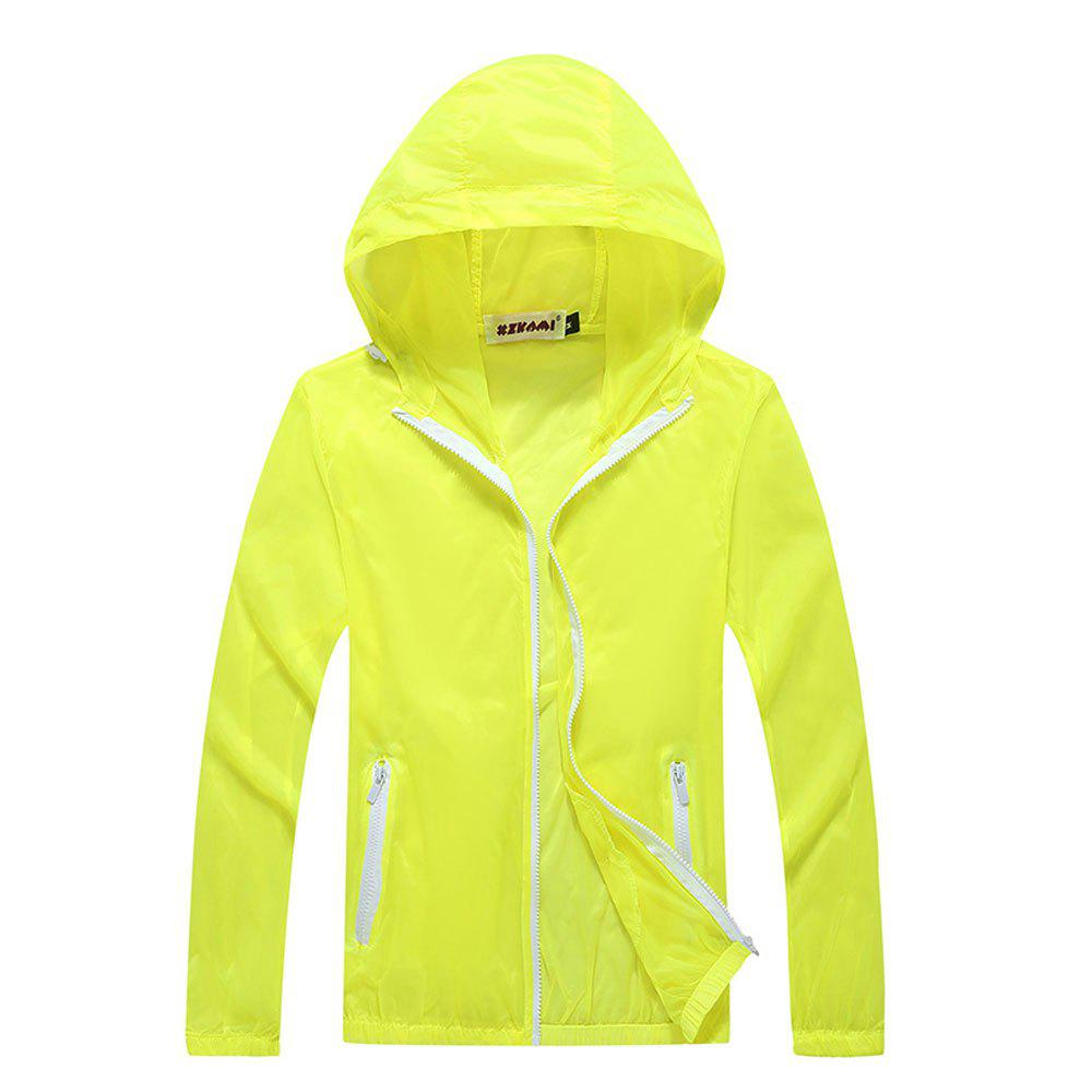 Outfit Men and Women Summer Thin Skin Clothes Dry Exercise Sun Protection Jacket