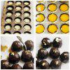 3D Football Shaped Chocolate Mold DIY Cake Candy Pastry Decoration Tool -