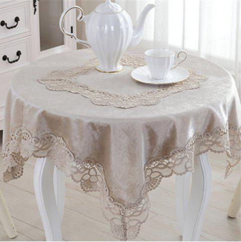 New European Lace Multifunction Dustproof Tablecloth