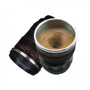 Camera Lens Shaped Self Stirring Coffee Mug Electric Automatic Self Mixing Cup 300ml -