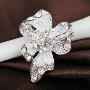 Mini broche bowknot mode -