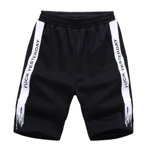 Online Men Plus Size Casual Shorts All Match Breathable Simple Bottoms Shorts