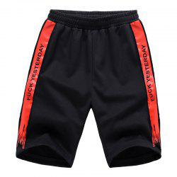 Men Plus Size Casual Shorts All Match Breathable Simple Bottoms Shorts -