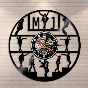 Vinyl Wall Clock Home Decal Birthday Gifts -
