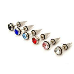 Ear Studs Men and Women Diamond Piercing Fashion Trend Accessories  6 Pairs -