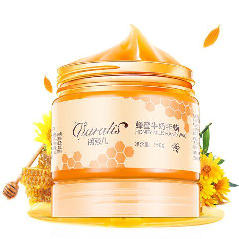 Hot Daralis Whitening Exfoliating Honey & Milk Hands Wax 150g