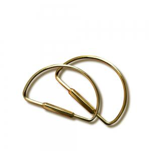 Personality Pure Brass Key Ring -
