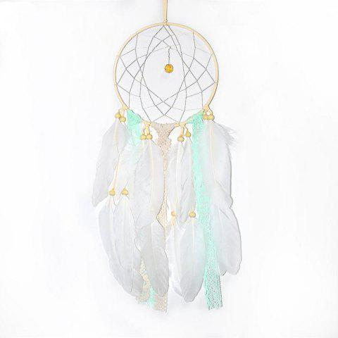 Chic Creative Arts Fresh Girl Bedroom Dreamcatcher Feather Hanging Decorations