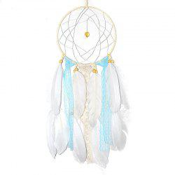 Creative Arts Fresh Girl Bedroom Dreamcatcher Feather Hanging Decorations -