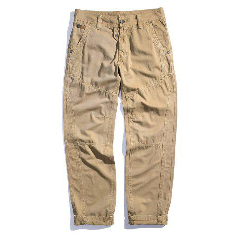 Chic Men's Cotton Loose and Large Size Casual Pants
