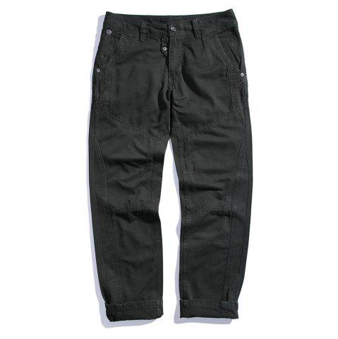 Hot Men's Cotton Loose and Large Size Casual Pants