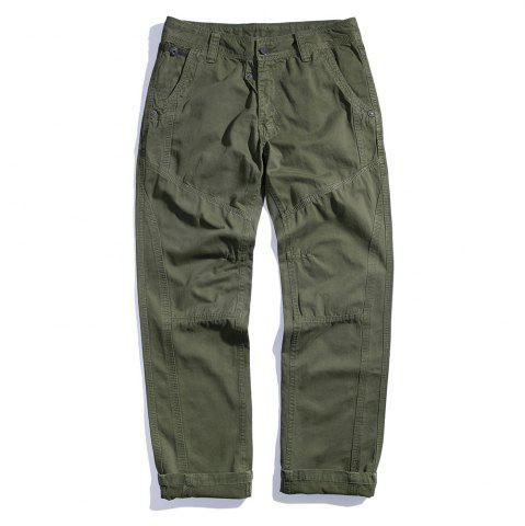 Trendy Men's Cotton Loose and Large Size Casual Pants