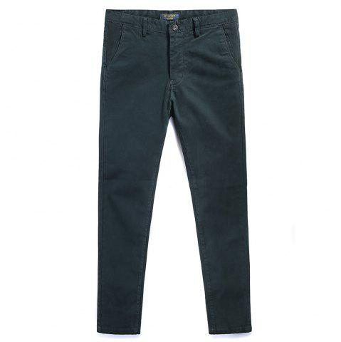 Outfits Pure Cotton of Men's Straight Tube  Lounge Pants