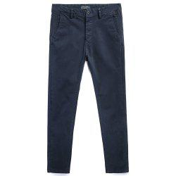 Pure Cotton of Men's Straight Tube  Lounge Pants -