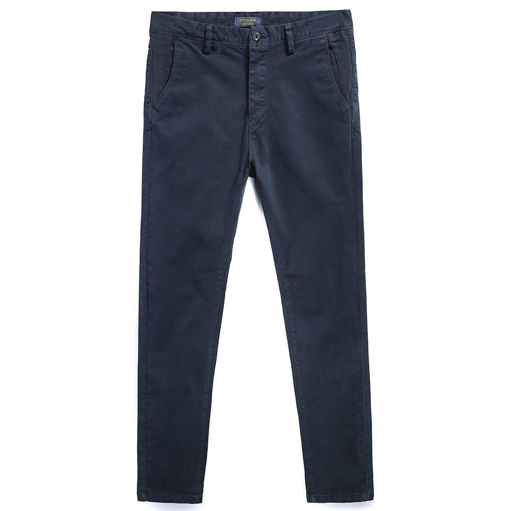 Best Pure Cotton of Men's Straight Tube  Lounge Pants