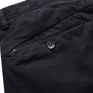 Man Fashion Pure Color Straight Tube Casual Pants -