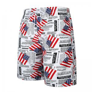 National Flag Men's Casual Beach Pants -
